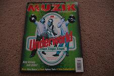 MUZIK MAGAZINE AUGUST 1996 ISSUE 15 UNDERWORLD NICKY HOLLOWAY APHEX TWINS BLAZE