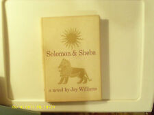 Solomon & Sheba by Jay Williams 1959 Hardcover Good Condition