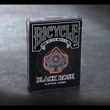 Bicycle Black Rose Playing Cards Poker Spielkarten