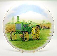 ~~~ John Deere Tractor ~ Bone China Plate