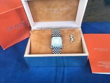 Bedat No 7 Automatic Stainless Steel Woman's Watch w/2 Extra Links for sizing