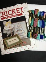 Cricket Chritmas In July Cross Stitch 12 Days Chart Kitted With Floss & Aida