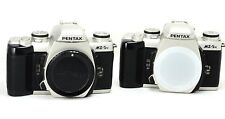 PENTAX MZ-5N ANALOG SILVER CAMERA BODY - NOT WORKING CONDITIONS FOR SPARE PARTS