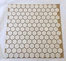 Mosaics Tile Unglazed 12x12 4mm Thick Hexagon 10 Sheets 10SF Backsplash Floor