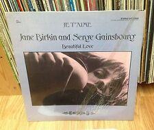 "JANE BIRKIN & SERGE GAINSBOURG LP "" Je T'aime (Beautiful Love) "" MERCURY Usa"
