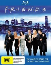 Friends The Complete Series Season 1+2+3+4+5+6+7+8+9+10 Blu-ray Set RB Clearance