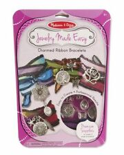Melissa & Doug Charmed Ribbon Bracelets #9470 NEW