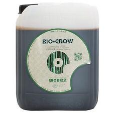 Bio Grow 5lt Biobizz Fertilizzante Organico Concime Liquido Crescita Vegetativa