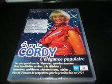 """DVD NEUF """"ANNIE CORDY : L'ELEGANCE POPULAIRE"""""""