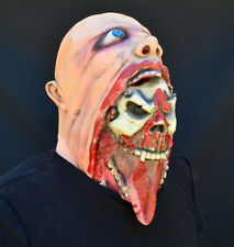 Gory Halloween Mask Bloody skull costume party mask