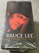 Bruce Lee Best Kung Fu The Master Collection VHS 5-Tape Set NEW & SEALED HTF