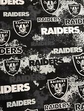 One Piece Of Raiders Camo Splash Fabric Approx. 21�wide By 88�long