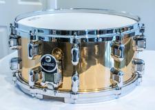 Legend Drums 6.5x14 Bronze/Brass Snare Drum Die Cast Hoops - RARE!