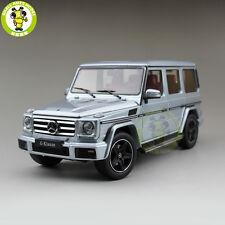 1/18 Daimler Mercedes Benz G Class G Klasse Diecast Model Car SUV Silver