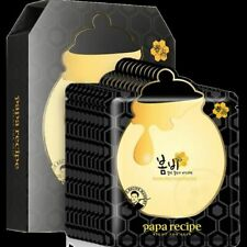 [papa recipe] Bombee Black Honey Mask Pack 25g*10 Sheets/Korean Cosmetics