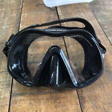 New listing Atomic Aquatics - Venom Frameless Mask - Black - For Snorkeling and Scuba