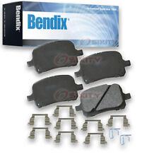Bendix SBC707 Stop By Bendix Ceramic Brake Pads - Pair Left Right Pad PGD707 xm