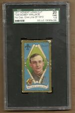 1911 T205 BOBBY WALLACE ONE LINE OF STATS   SGC 20