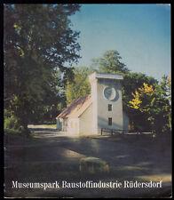Museumspark Baustoffindustrie Rüdersdorf, 1995