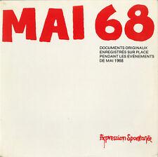 """""""MAI 68"""" Expression Spontanée (Double LPs 33 tours français) MINT"""