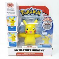 Pokemon My Partner Pikachu Interactive Electronic Figure Sounds 100+ Reactions