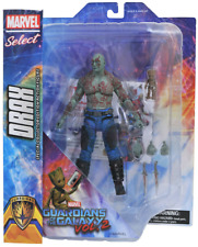 Marvel Select Drax and Groot Guardians of The Galaxy V2 Action Figure Diamond