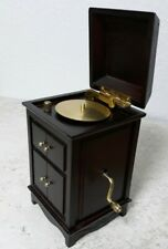 Vintage Record Player Music Box Super Cute !