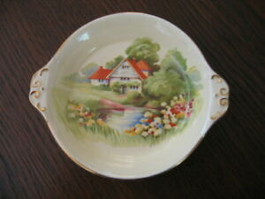 RARE ROYAL WINTON GRIMWADES RED ROOF SMALL DISH / BUTTER