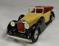 Matchbox Models of Yesteryear - Lagonda Drophead Coupe 1938
