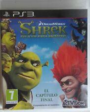 Shrek Felices Para Siempre. Ps3. Fisico. Pal España
