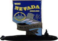 """USS Nevada SSBN-733 Submarine challenge Coin US Navy Challenge Coin 2.0"""" a  120"""