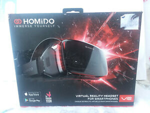 Homido VR Headset  V2 for iPhone/ Android Apple Samsung LG  2000 Apps and movies