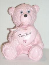 Daughter Girls Baby Pink Teddy Bear Grave Memorial Graveside Tribute Ornament
