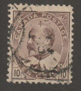 Canada 1903 #93 King Edward VII Used Fine