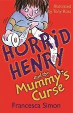 Horrible Henry y la momia's Curse: libro 7 por Francesca Simon (de Bolsillo, 2000)