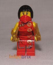 Lego Custom Nya Ninja Minifigure with Red Bandana for Ninjago BRAND NEW cus340