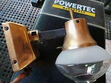 Vintage propane camping trailer lantern