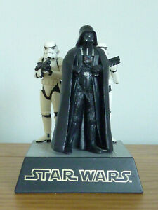 Tomy Star Wars Diorama Darth Vader & Stormtroopers 2002 Complete With Box VGC