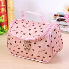 Women Multifunction Makeup Cosmetic Bags Cases Travel Toiletry Storage Organizer