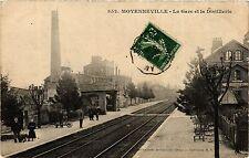 CPA Moyenneville - La Gare et la Distillerie (259747)