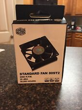 Cooler Master R4-S8R-20AK-GP 80mm Cooling Fan   80ST2   Long Life 50,000 Hours