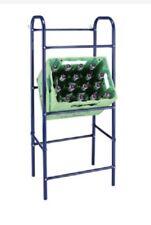 Flaschenkastenständer - Getränkeständer für 3 Kästen in Blau