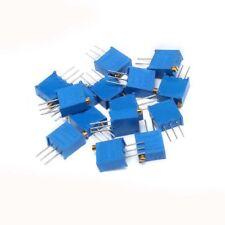 15 Values 3296 Multiturn Resistor Variable Trimmer Potentiometer Kit 50 2m
