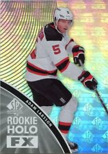 11/12 SP AUTHENTIC ROOKIE RC HOLO FX #RFX17 ADAM LARSSON DEVILS *42521