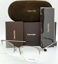 NEW Tom Ford RX Eye Glasses Frame Gunmetal TF5452 013 52mm AUTHENTIC FT5452 Club