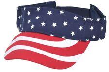 Visor Cap Schirmkappe Kappe Schild Sonnenschutz Flagge USA
