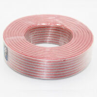 Loudspeaker Audio Speaker Cable 2 Conductor Audio Wire Lot AWG Gauge Copper Clad
