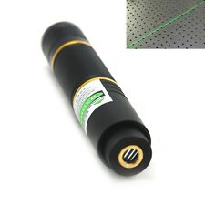 515nm 520nm Focusable Line Positioning Laser Pointer Green Diode Portable Torch