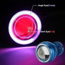 LED Halo Angel Red Demon Eye Headlight For Honda CBR 900 929 954 RR 1100XX