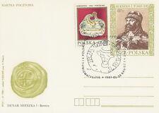 Poland postmark KALISZ - archeology numismatics